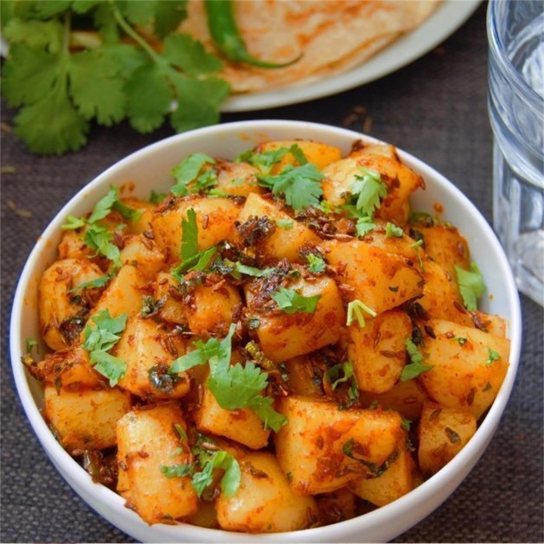Jeera Aloo (Potato Side Dish)