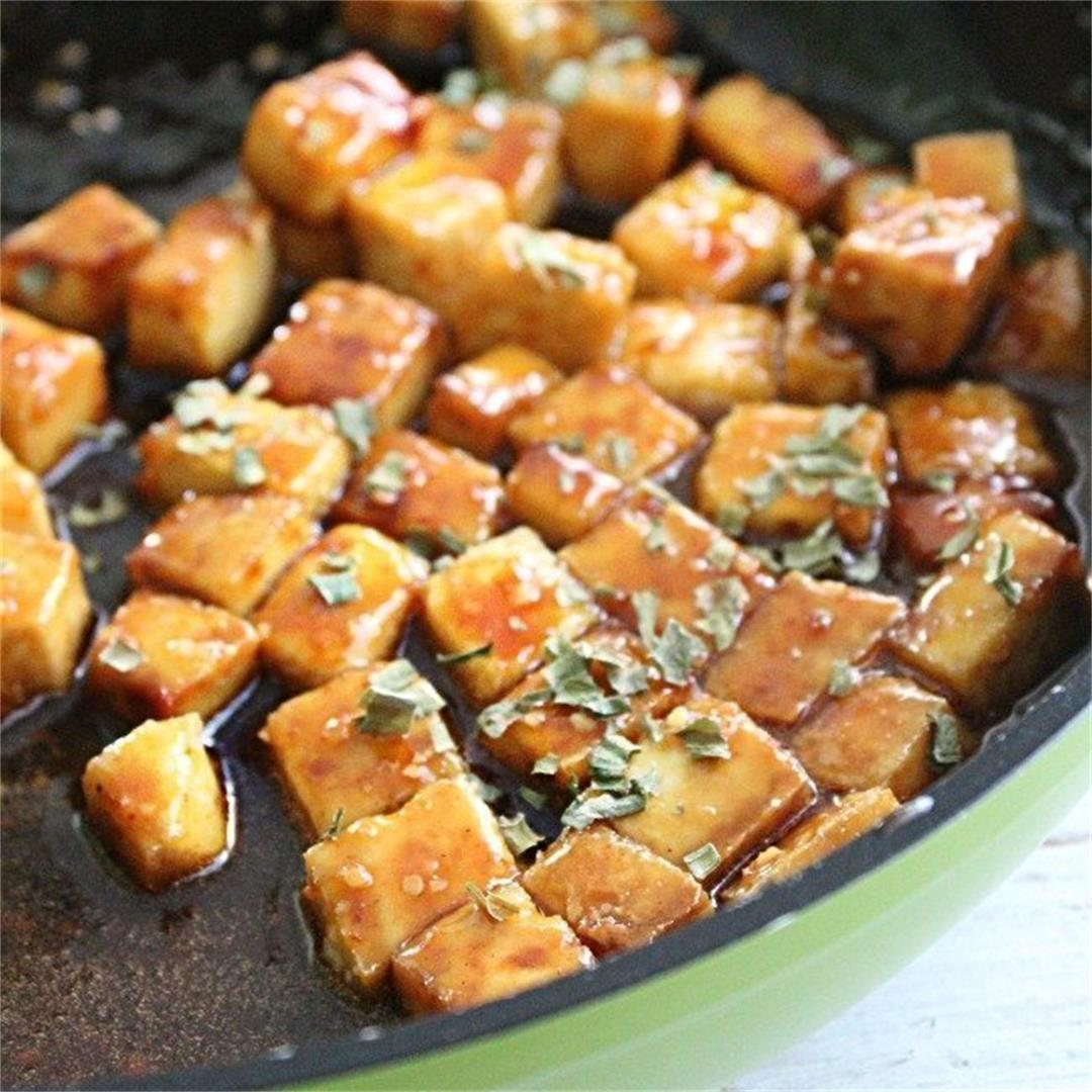 Honey Hoisen Crispy Tofu