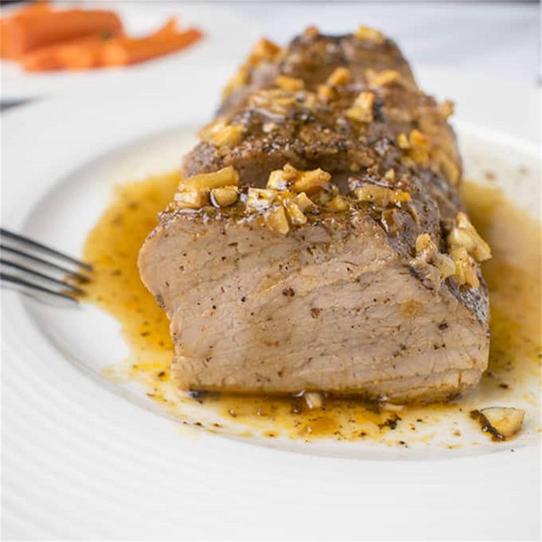 Baked Pork Tenderloin with Glaze