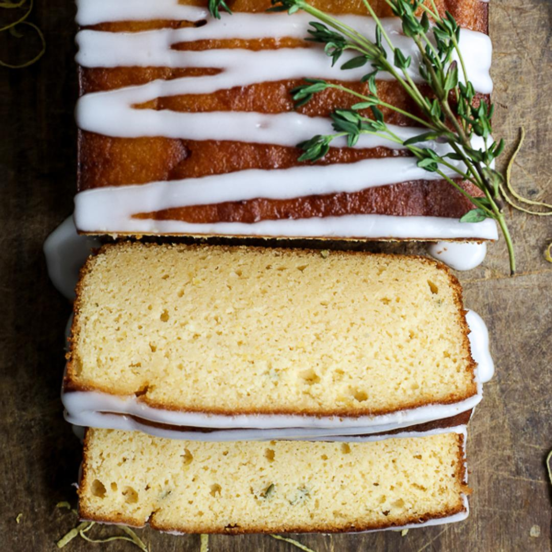 Whole Lemon Thyme Cake
