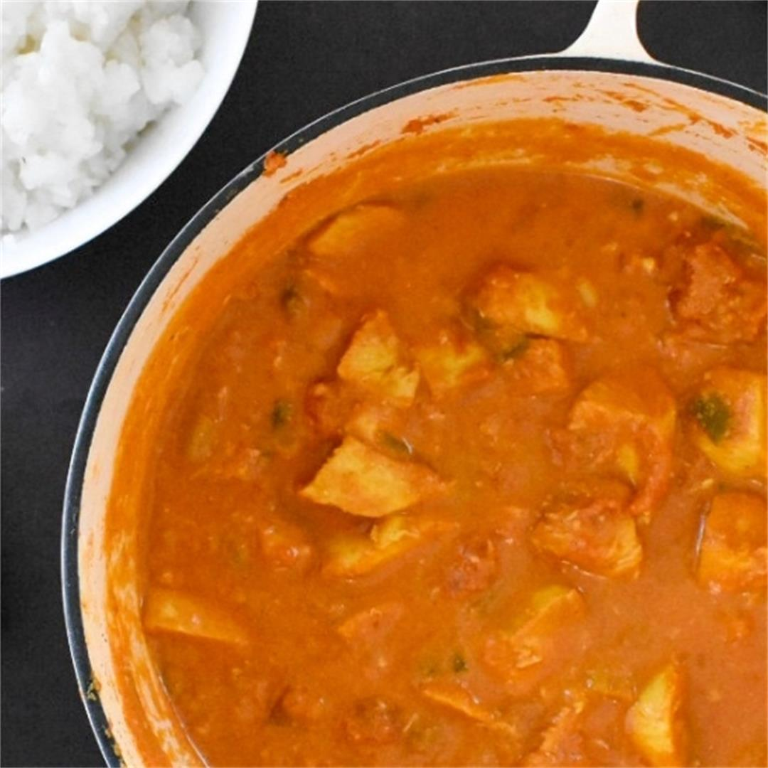 Easy Chicken Curry • Fabulous Family Food by Donna Dundas
