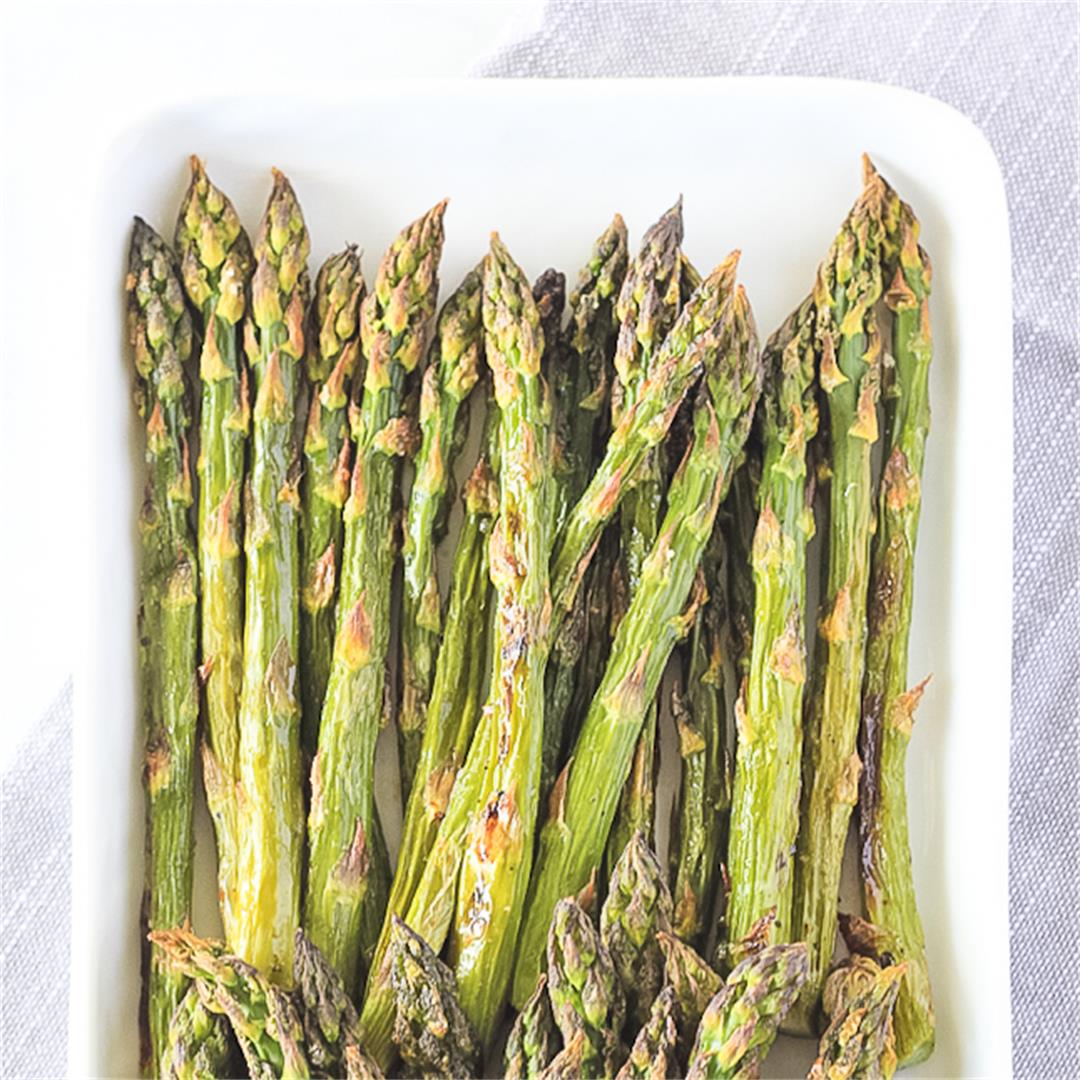 Roasted Asparagus Recipe {Whole30, Paleo, Keto, AIP, Vegan}