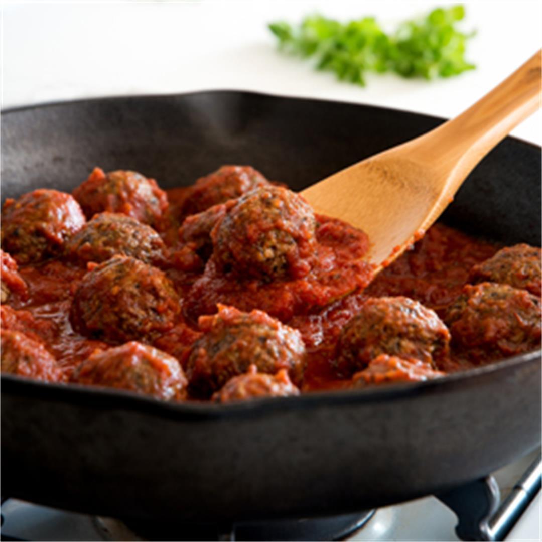 Gluten-Free No-Meatballs