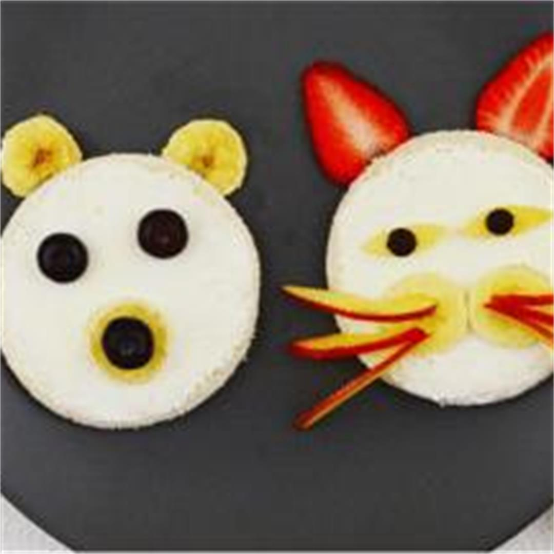 Adorable Kids Open Faced Sandwich Ideas (Recipe with VIDEO)