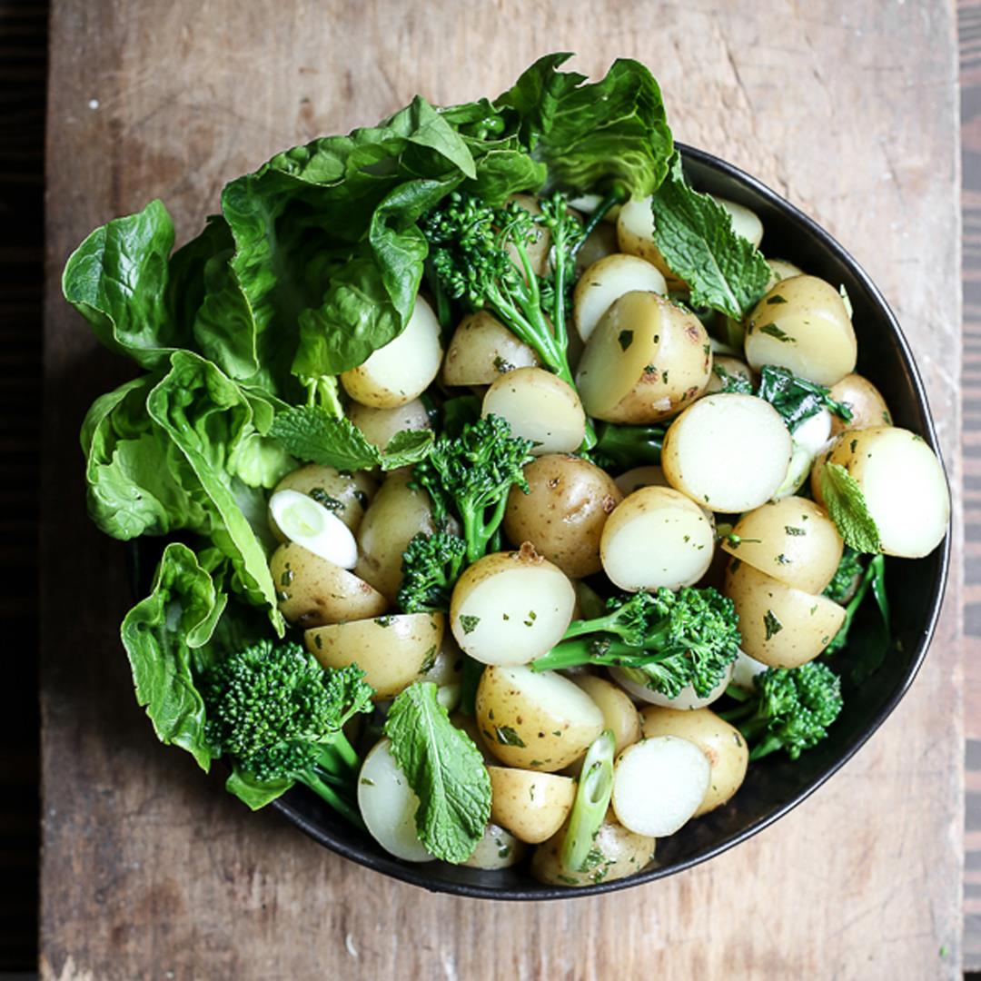 English Mint Potato Salad