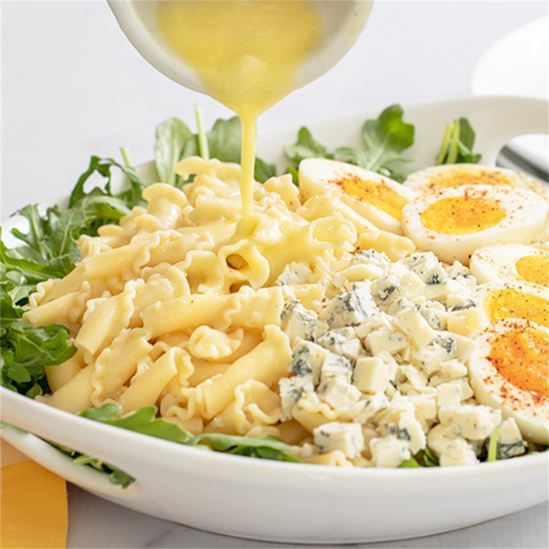 Egg And Arugula Pasta Salad