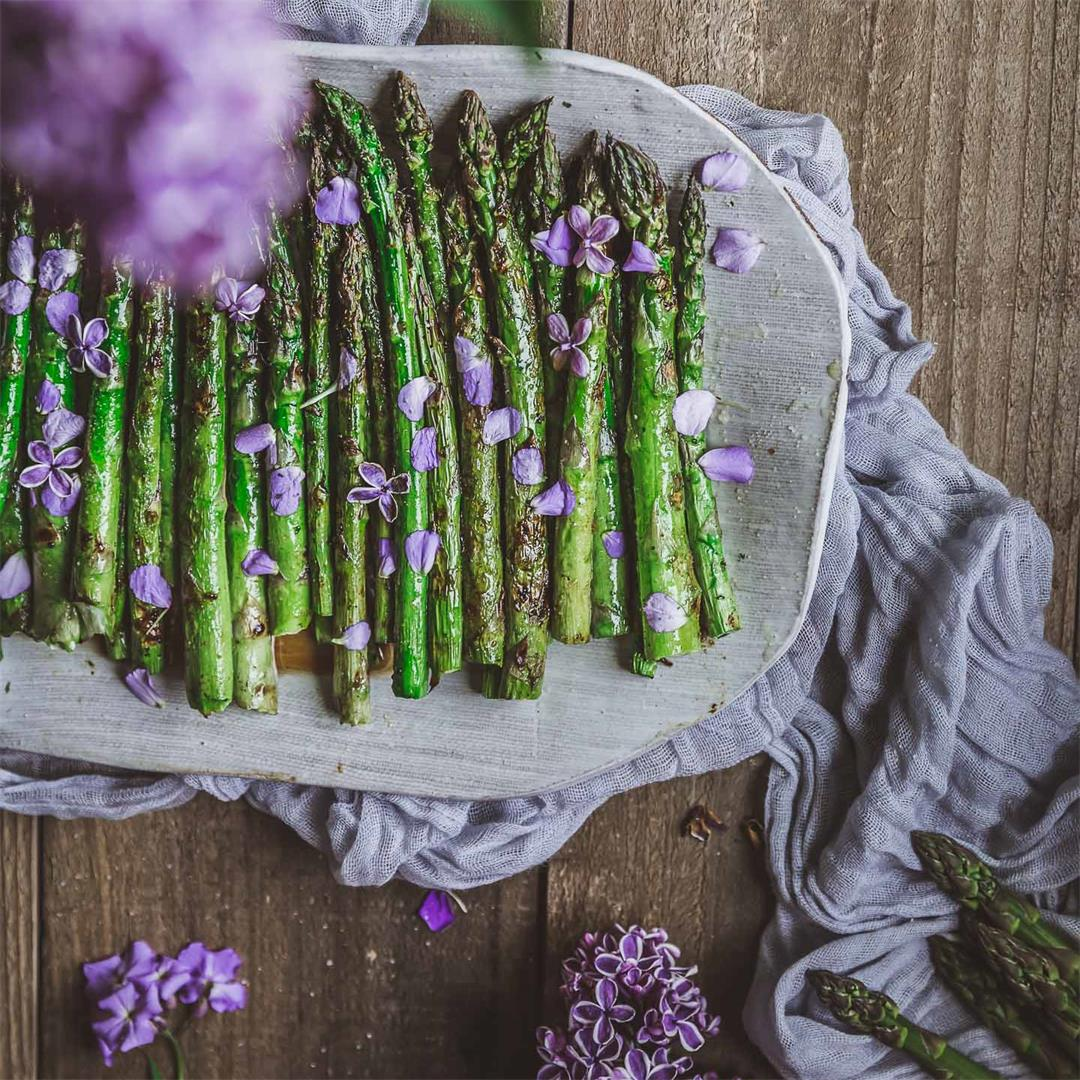 Grilled Honey Asparagus & Why Fresh Is Best