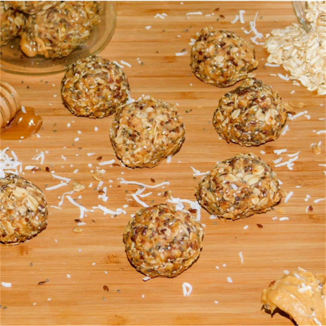 Get Energised with these Tasty Energy Balls
