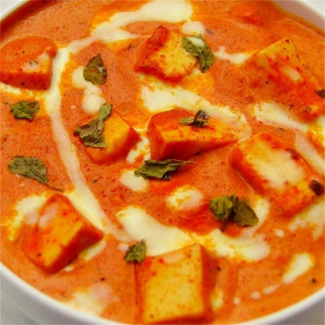 Paneer Makhani (Restaurant style Paneer Butter Masala)
