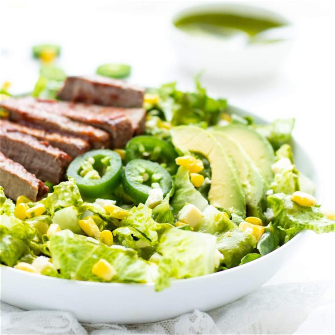 Steak & Avocado Salad