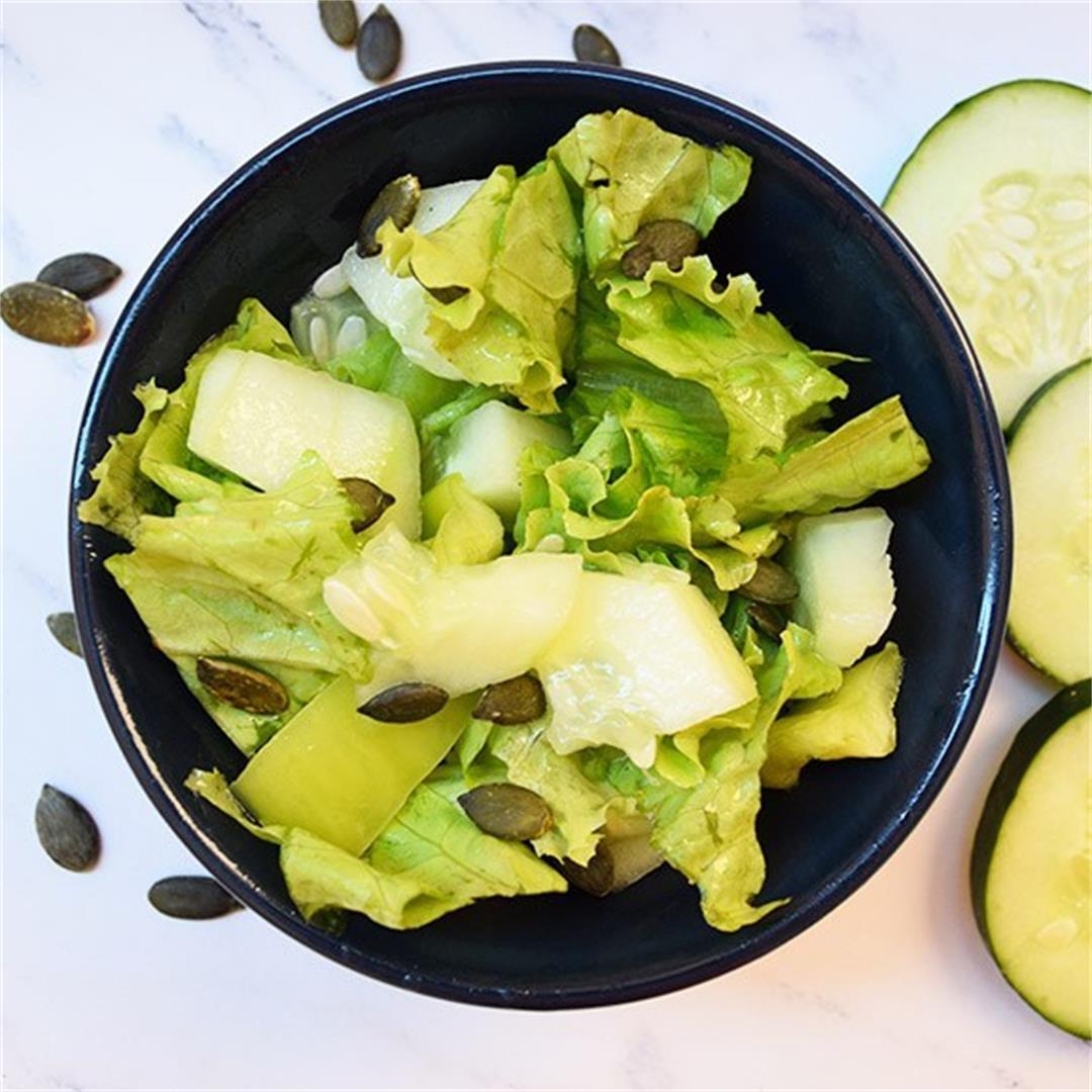 Refreshing Green Salad