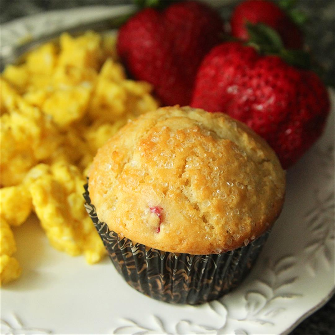 Savor the Season with Rhubarb Muffins