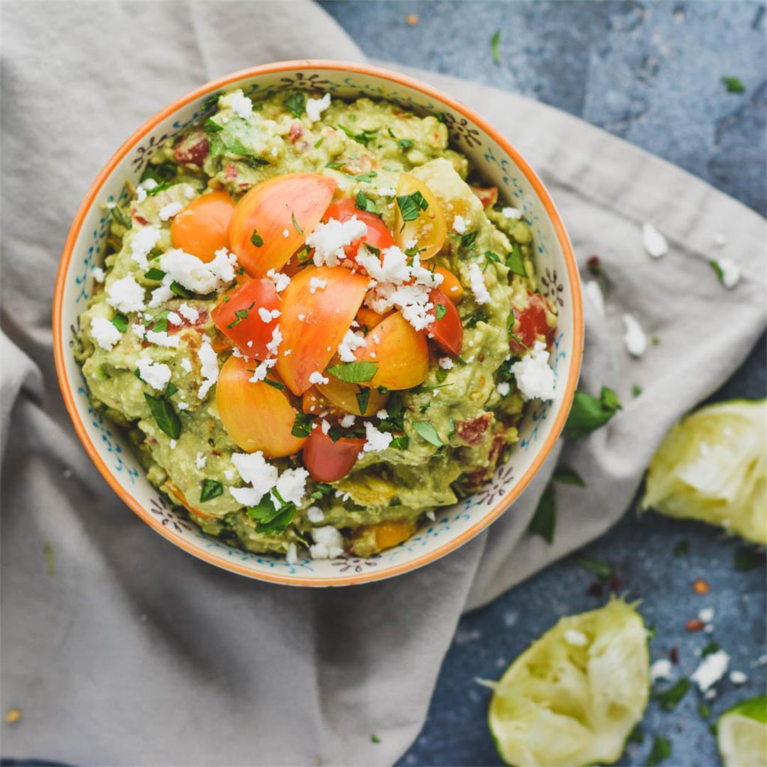 Mediterranean Avocado Dip — Wanderings in My Kitchen