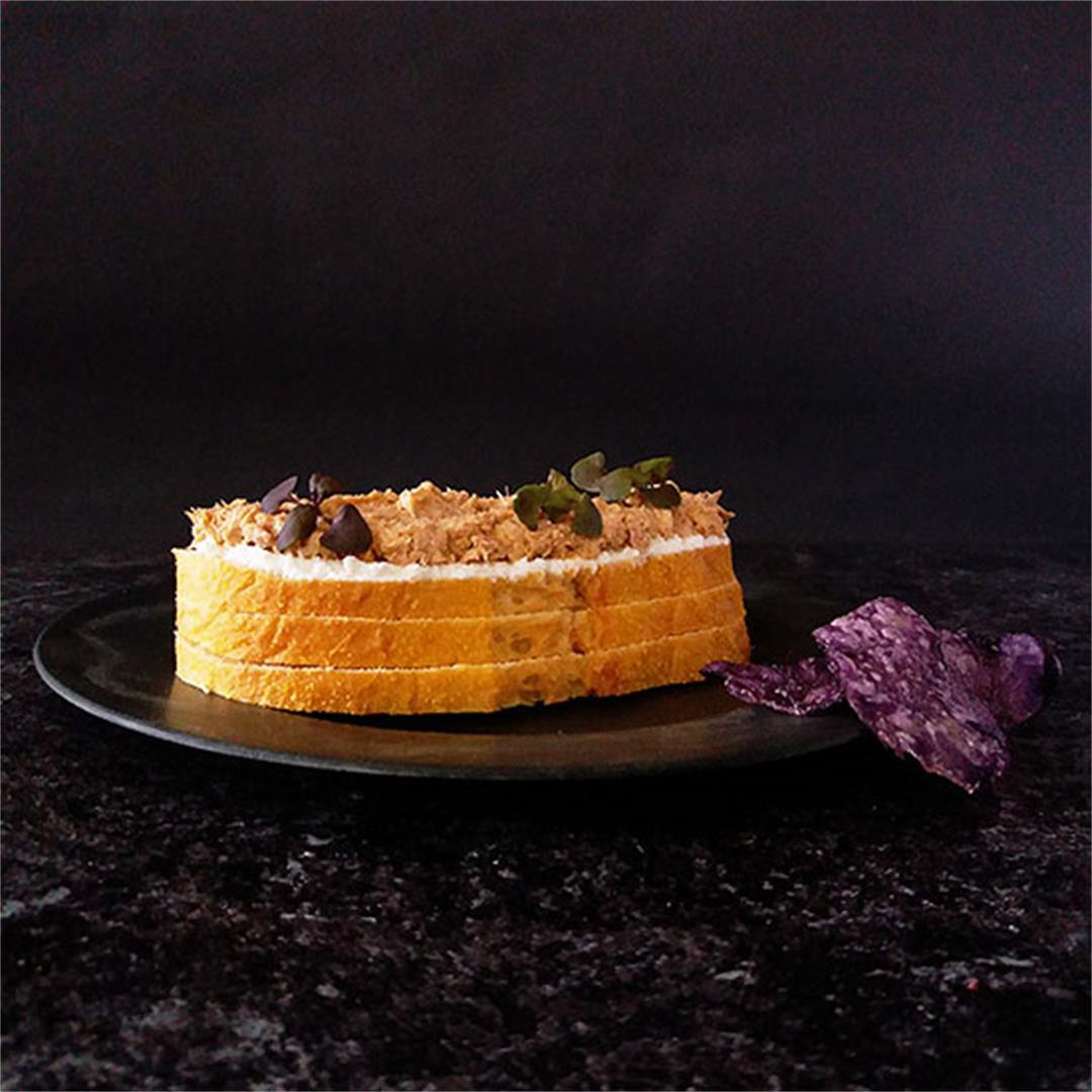 Moroccan Harissa Tuna Spread Recipe