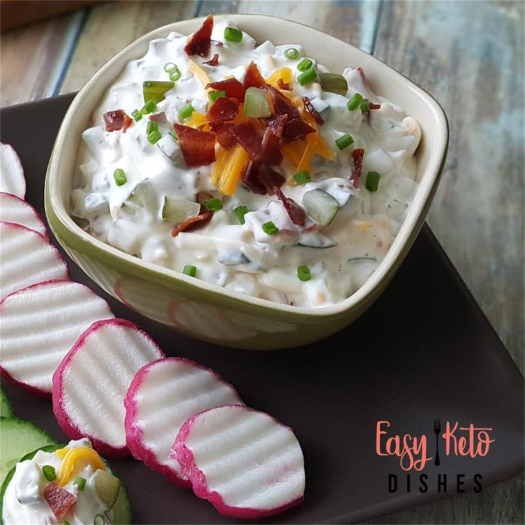 Cheesy Dill Pickle Dip