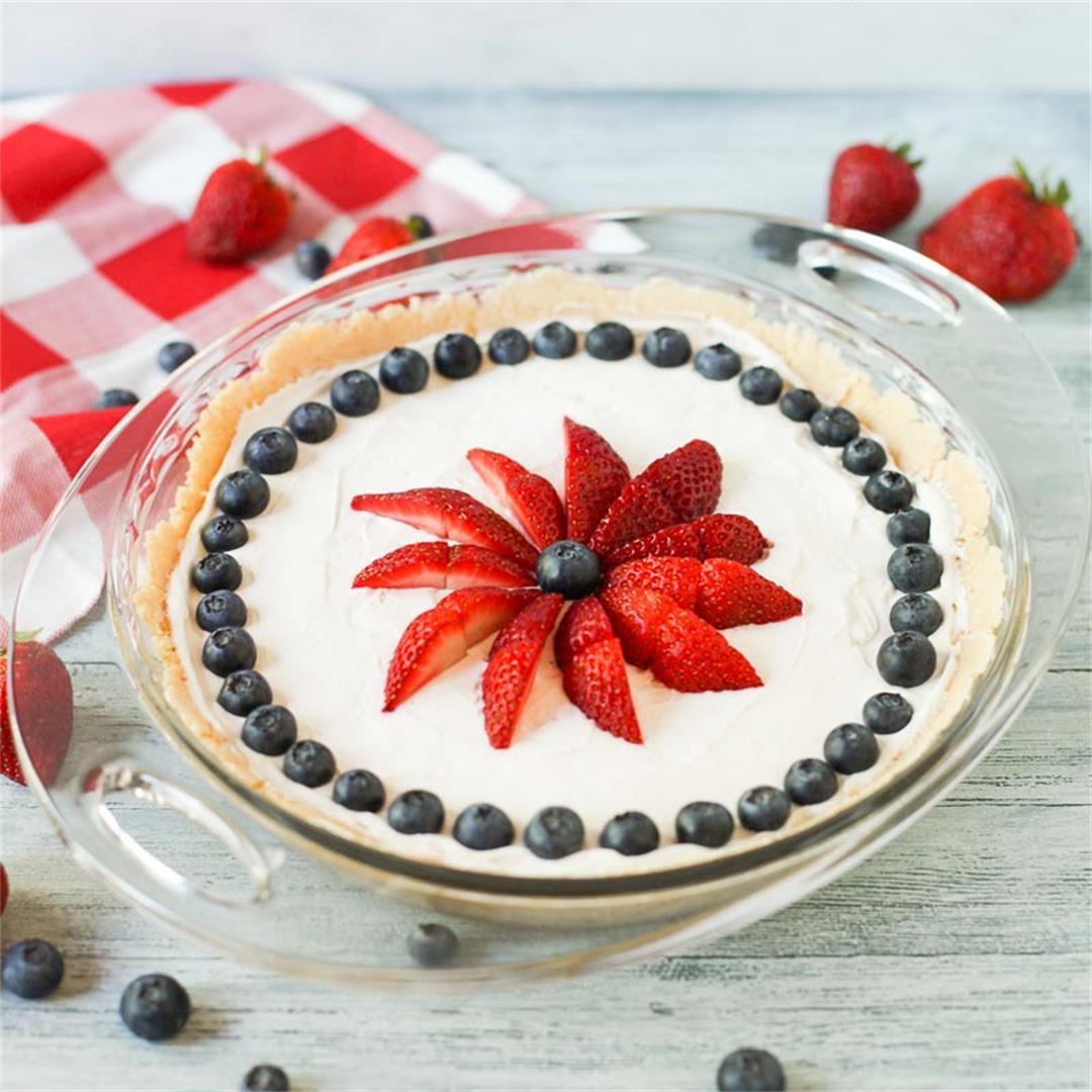 No-Bake Dairy Free Vanilla Cheesecake (Gluten Free)