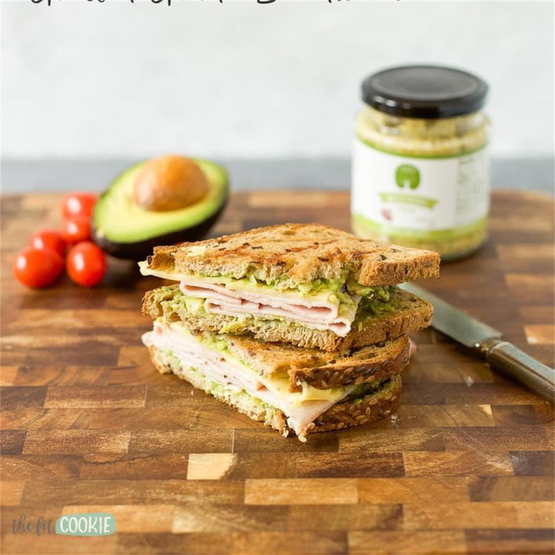 Gluten Free Grilled Gouda Sandwich (Dairy Free)