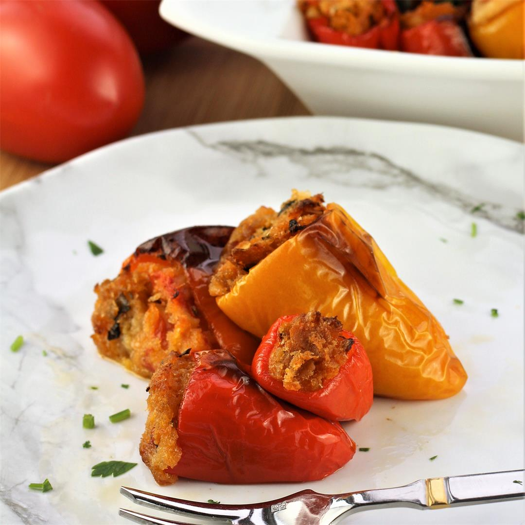 Stuffed Sweet Mini Peppers