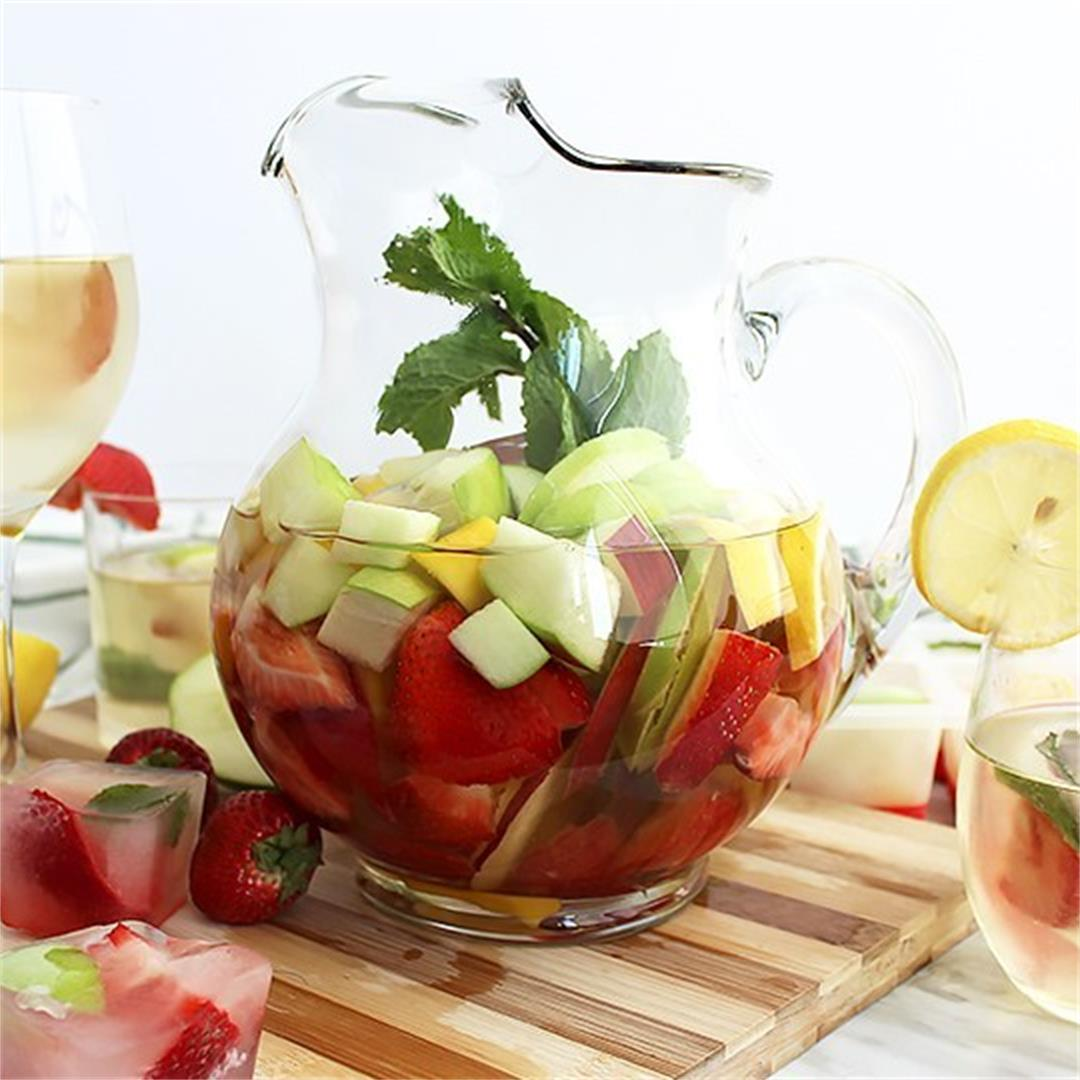 White Wine Sangria Recipe with Gin
