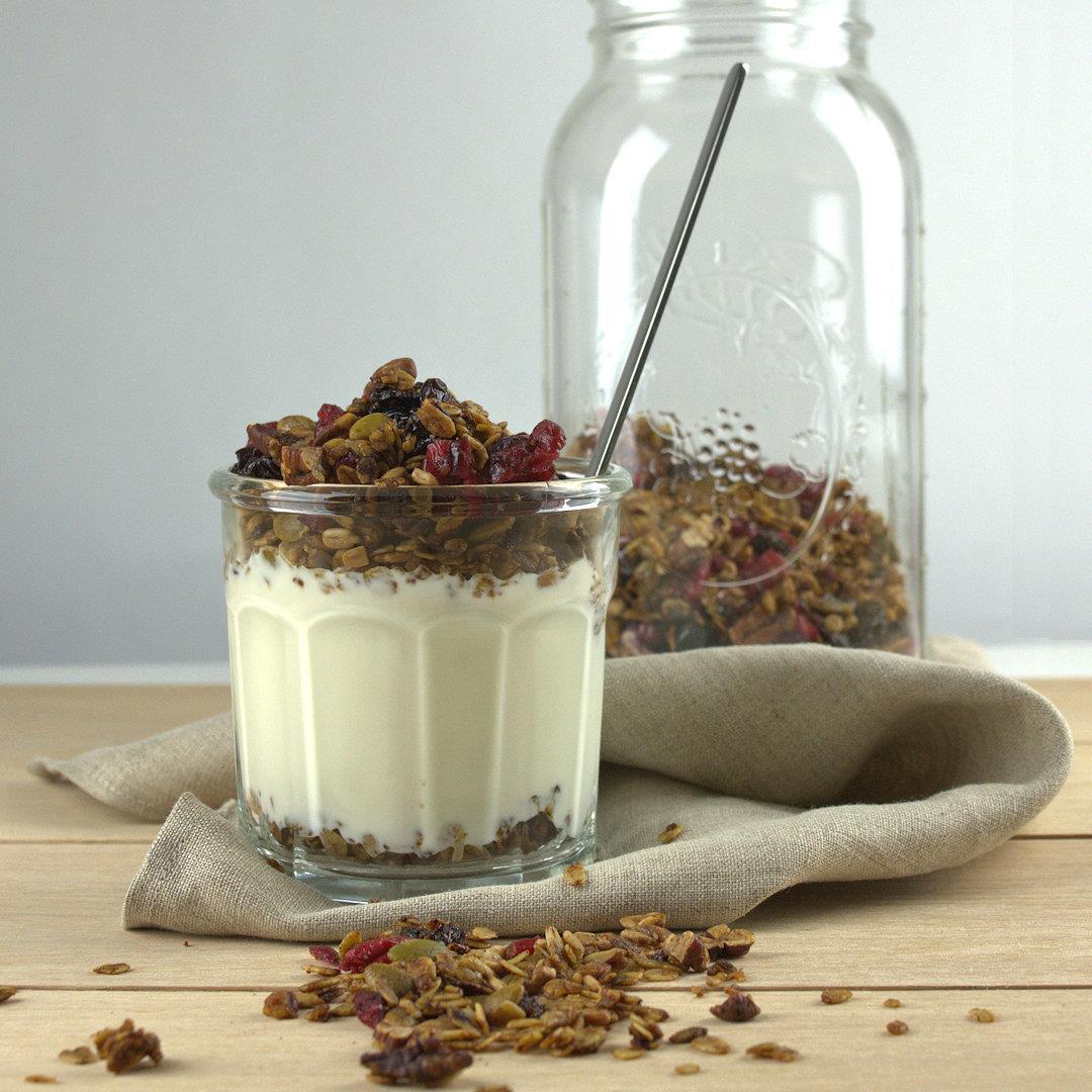 Easy Healthy Granola – A Gourmet Food Blog