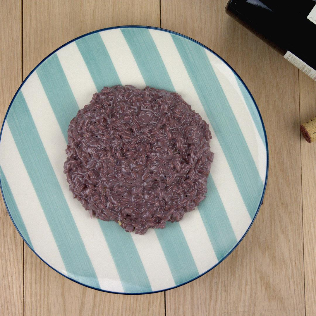 Red Wine Risotto with Mascarpone – A Gourmet Food Blog