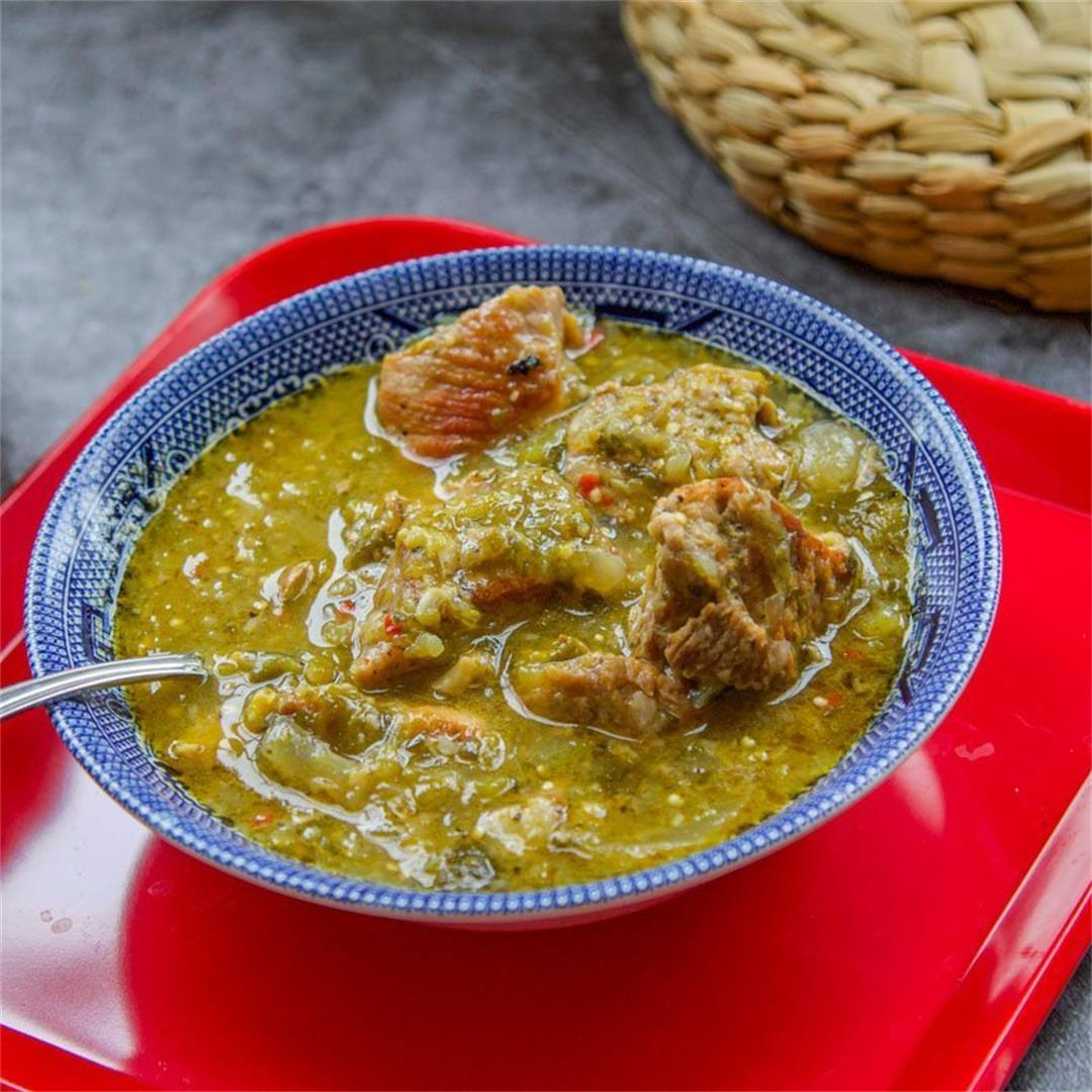 Instant Pot Chili Verde Recipe