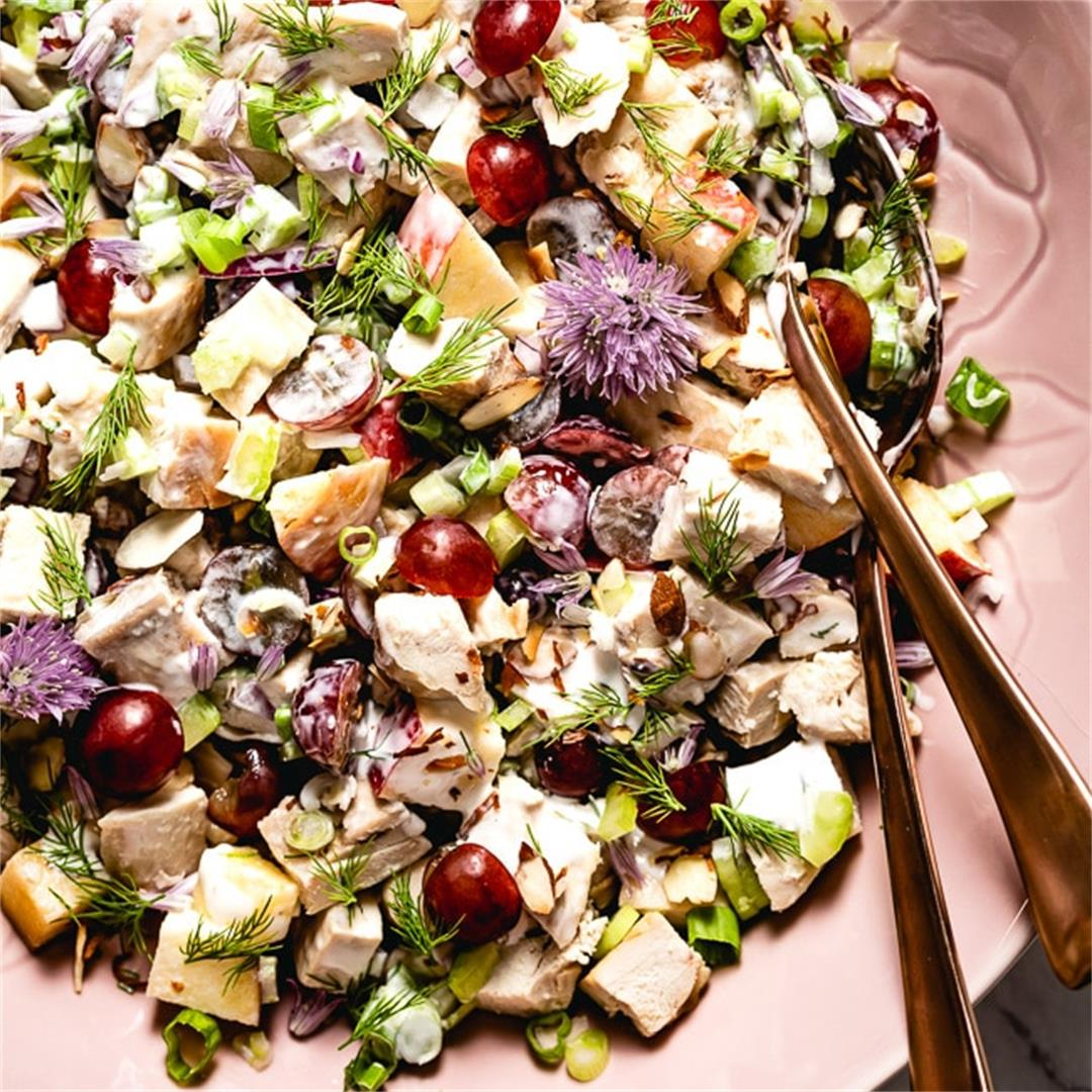 Healthy Greek Yogurt Chicken Salad