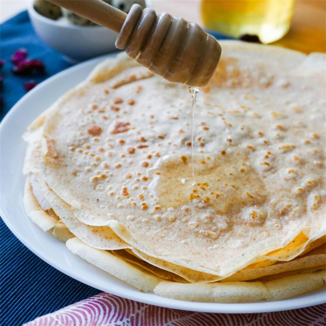 Easy French Crepes (Authentic Recipe)
