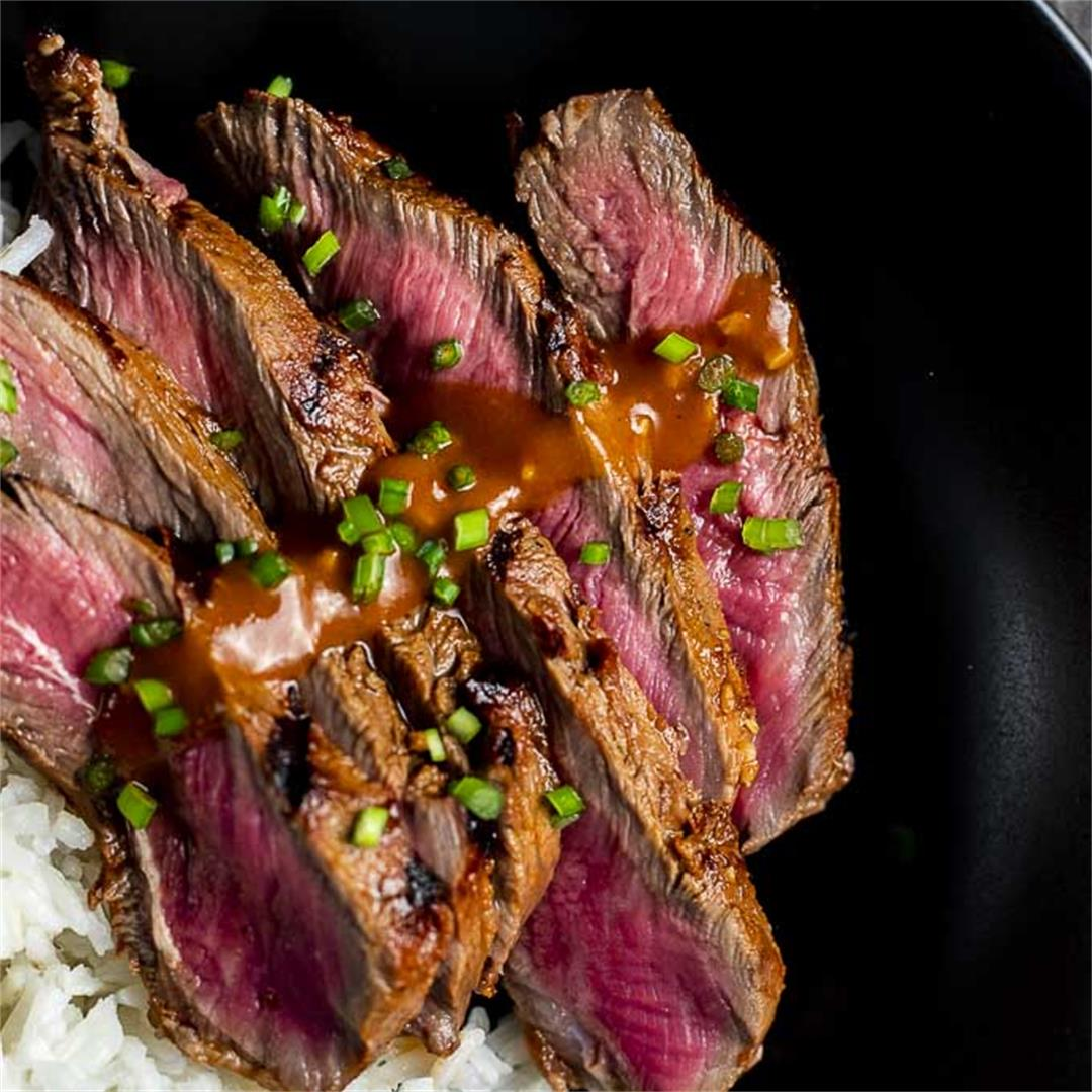 Gochujang Marinated Korean Beef Recipe