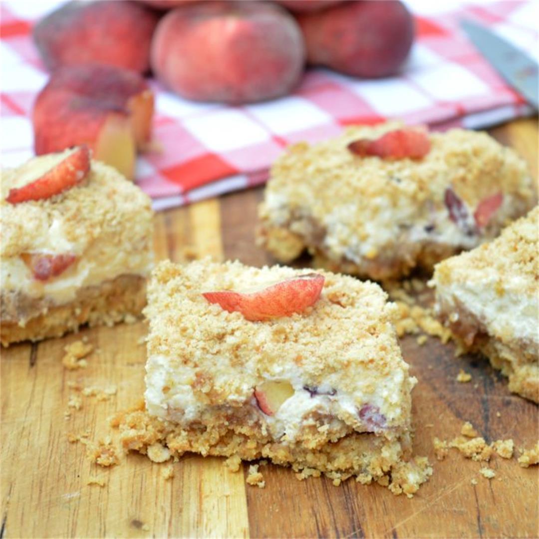 Mascarpone Peach Cake — Tasty Food for Busy Mums Summer Recipes