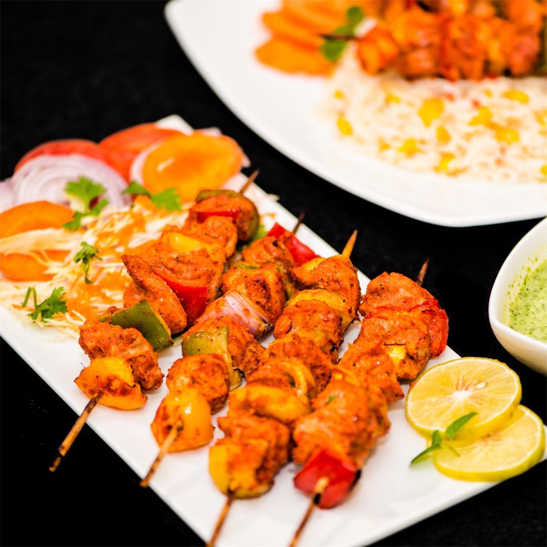 Chicken Tikka / Easy Chicken Tikka / Chicken Kebab