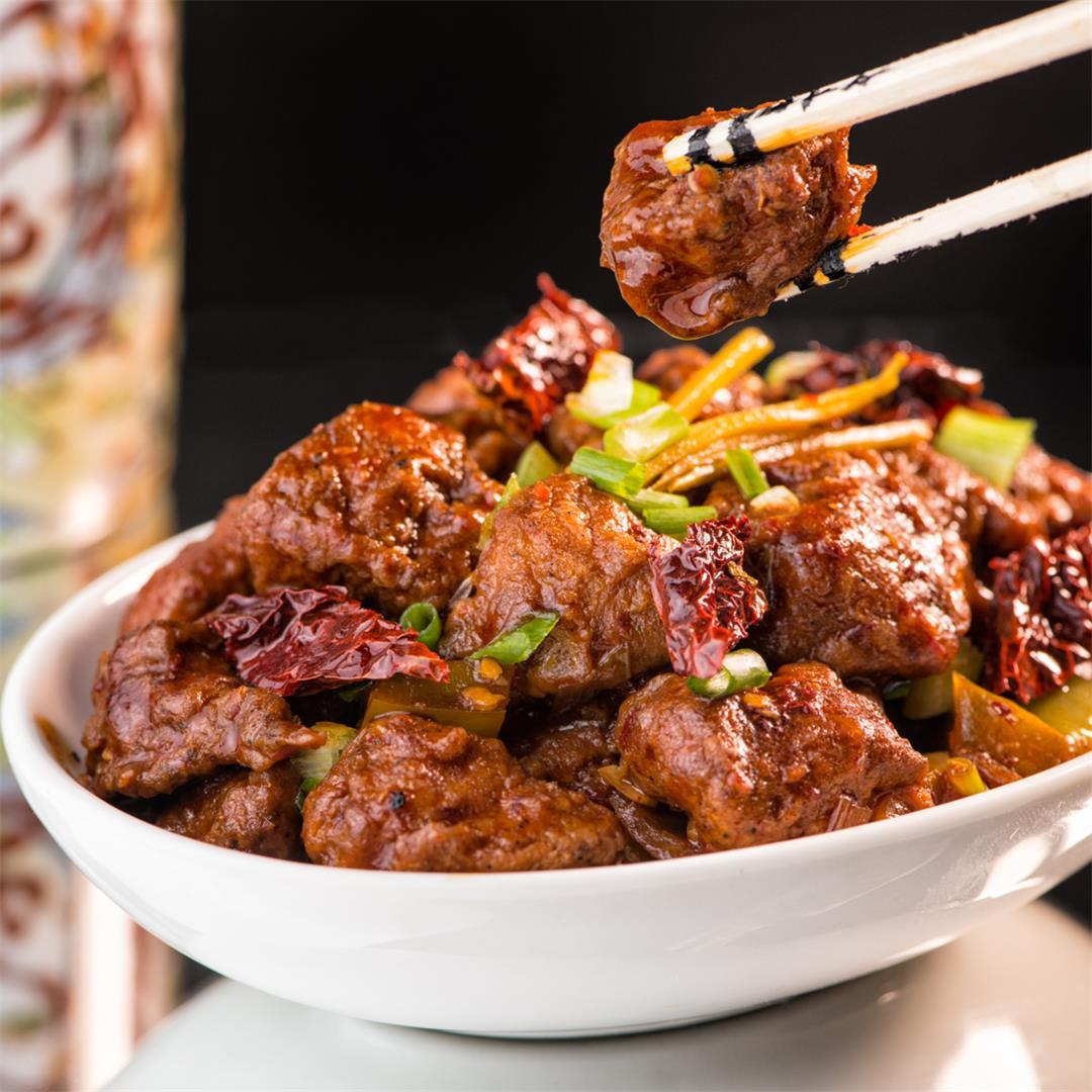 Szechuan Chicken / Szechuan Chilli Chicken