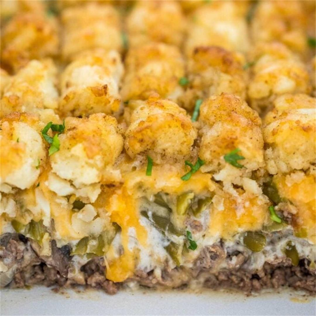 The Ultimate Tater Tot Casserole [video]