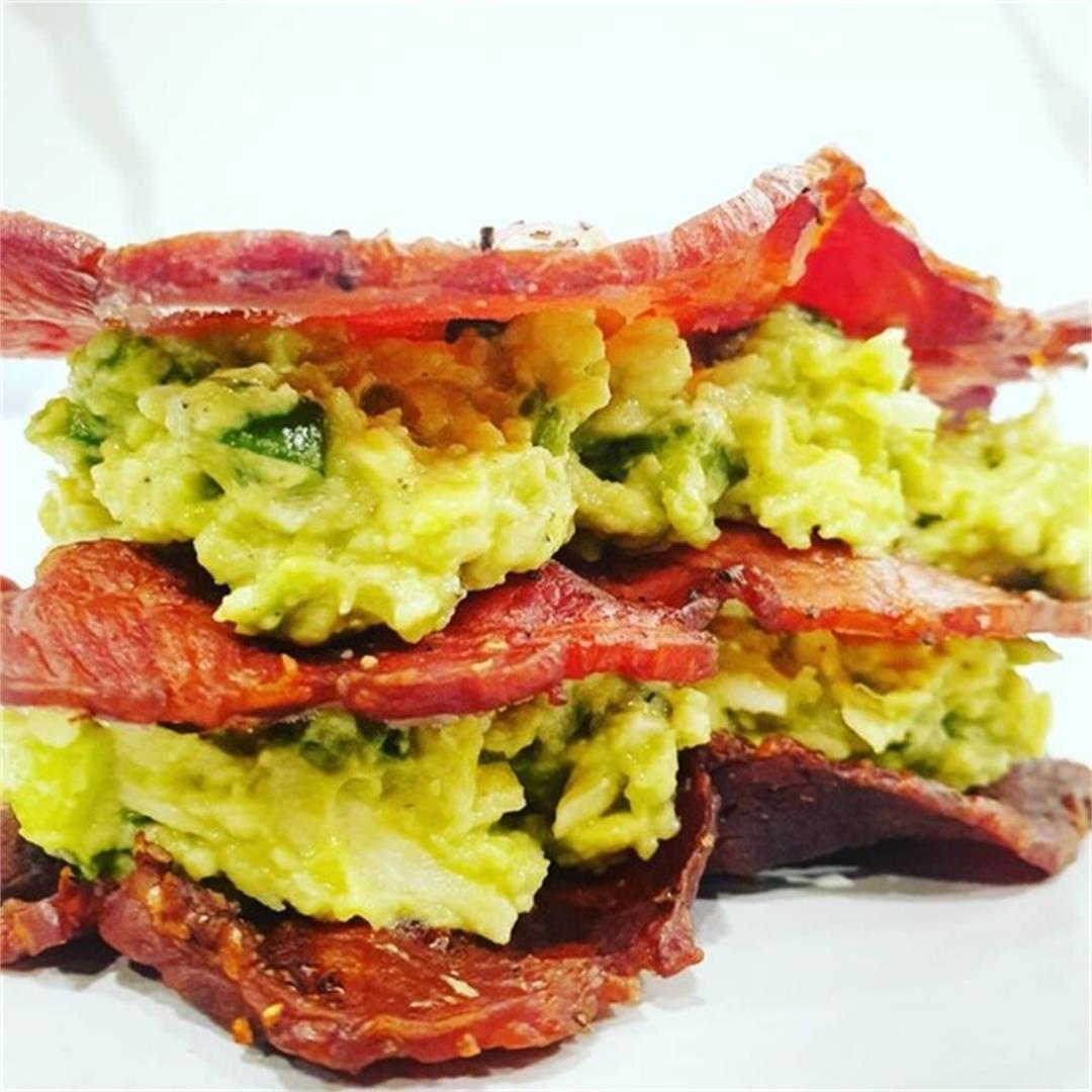 Keto Avolicious Bacon Sangas