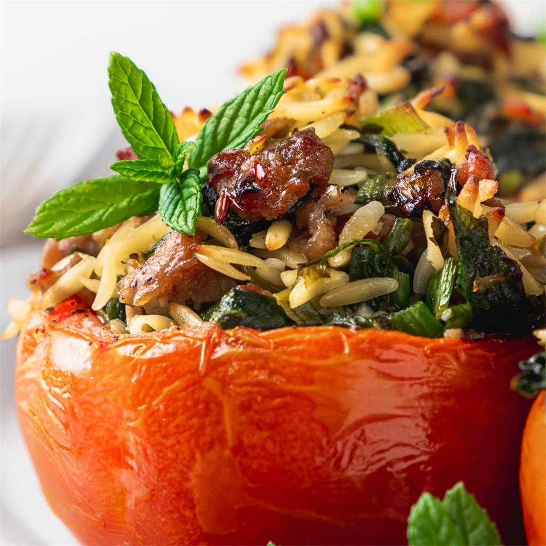 Simple Stuffed Tomatoes