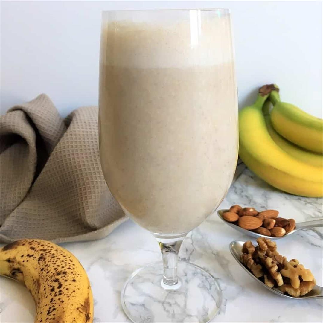 Healthy Banana Nut Smoothie