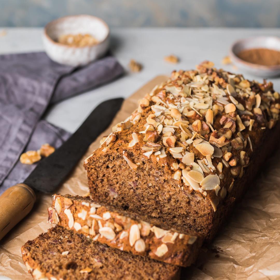Banana Bread (Healthy and wholegrain)