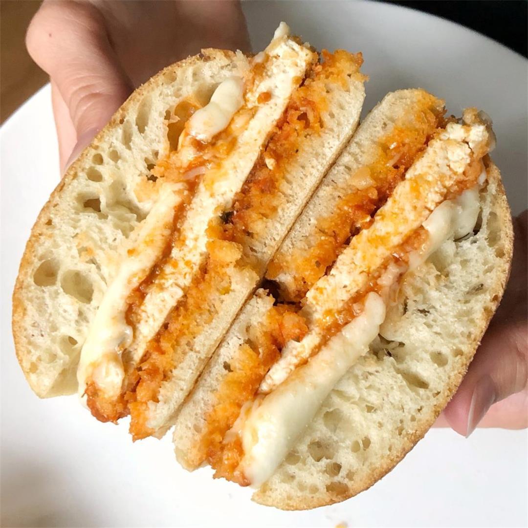 Tofu Parmesan Sandwiches