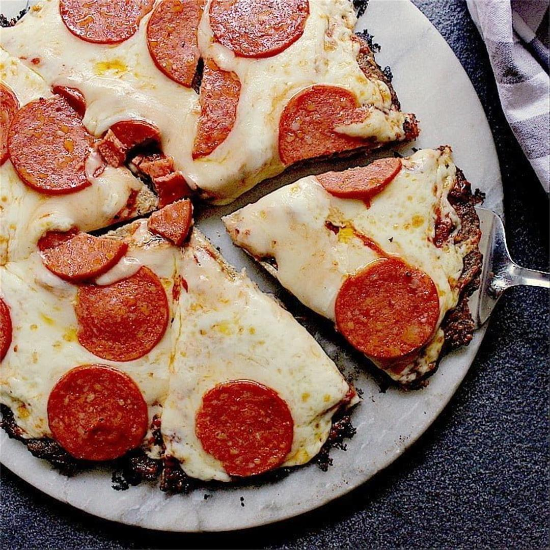 Keto Chicken Pizza Crust