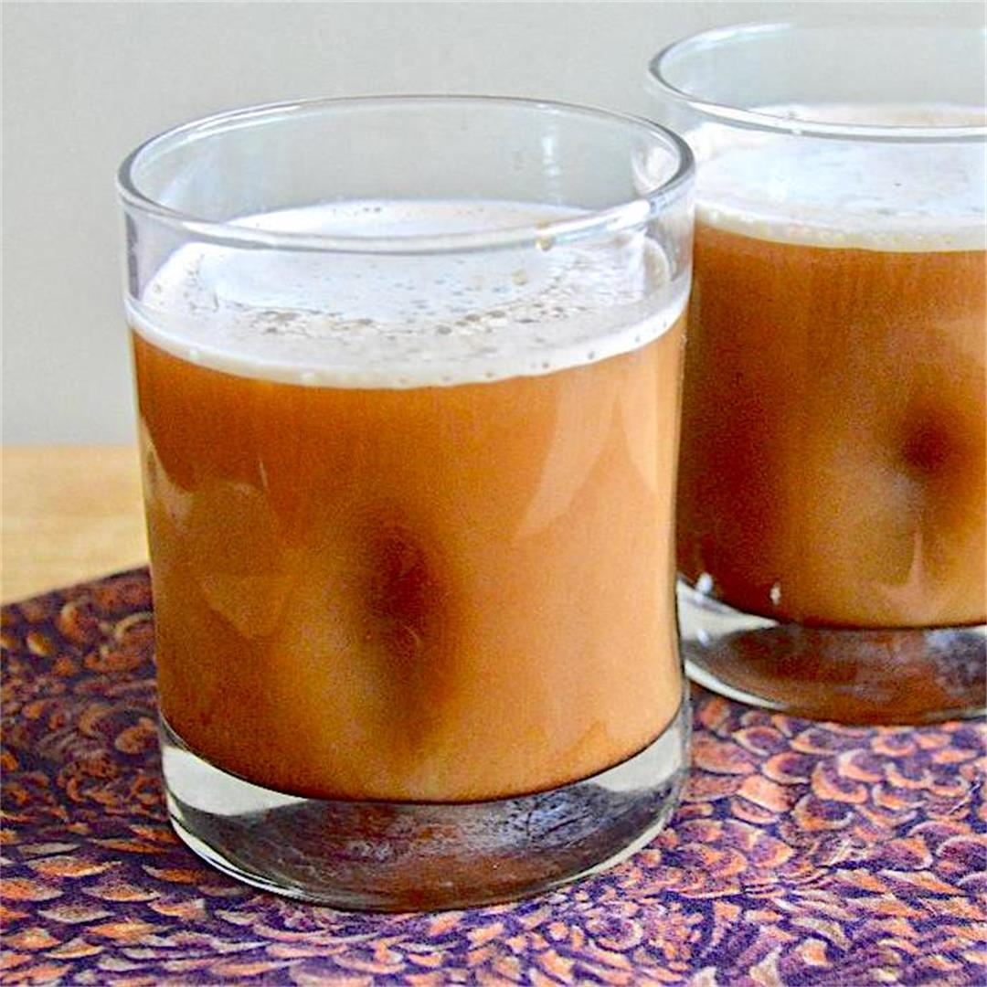 Cold Brew Coffee with Cold Foam - Jeanie and Lulu's Kitchen