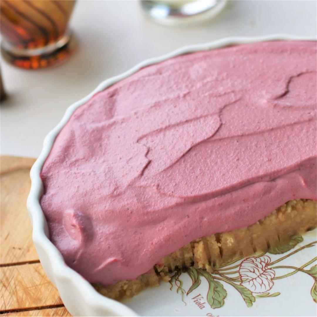 Vegan Strawberry 'Cheesecake' Recipe