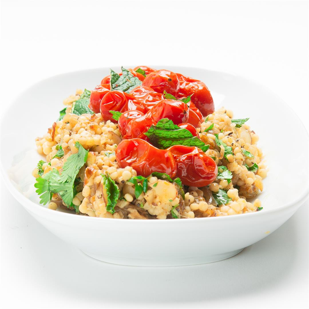 Salad Days! Couscous With Tomatoes and Herbs