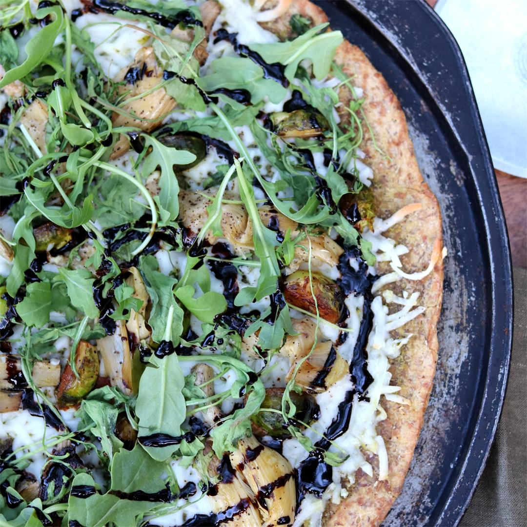 Chapi's Ultra Green Pizza (Vegan)