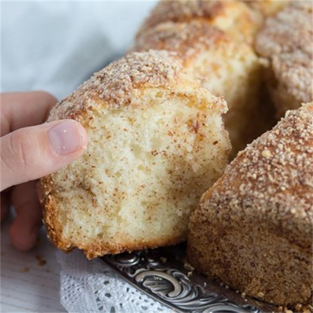 Pull-Apart Yeast Cake – Hungarian Coffee Cake