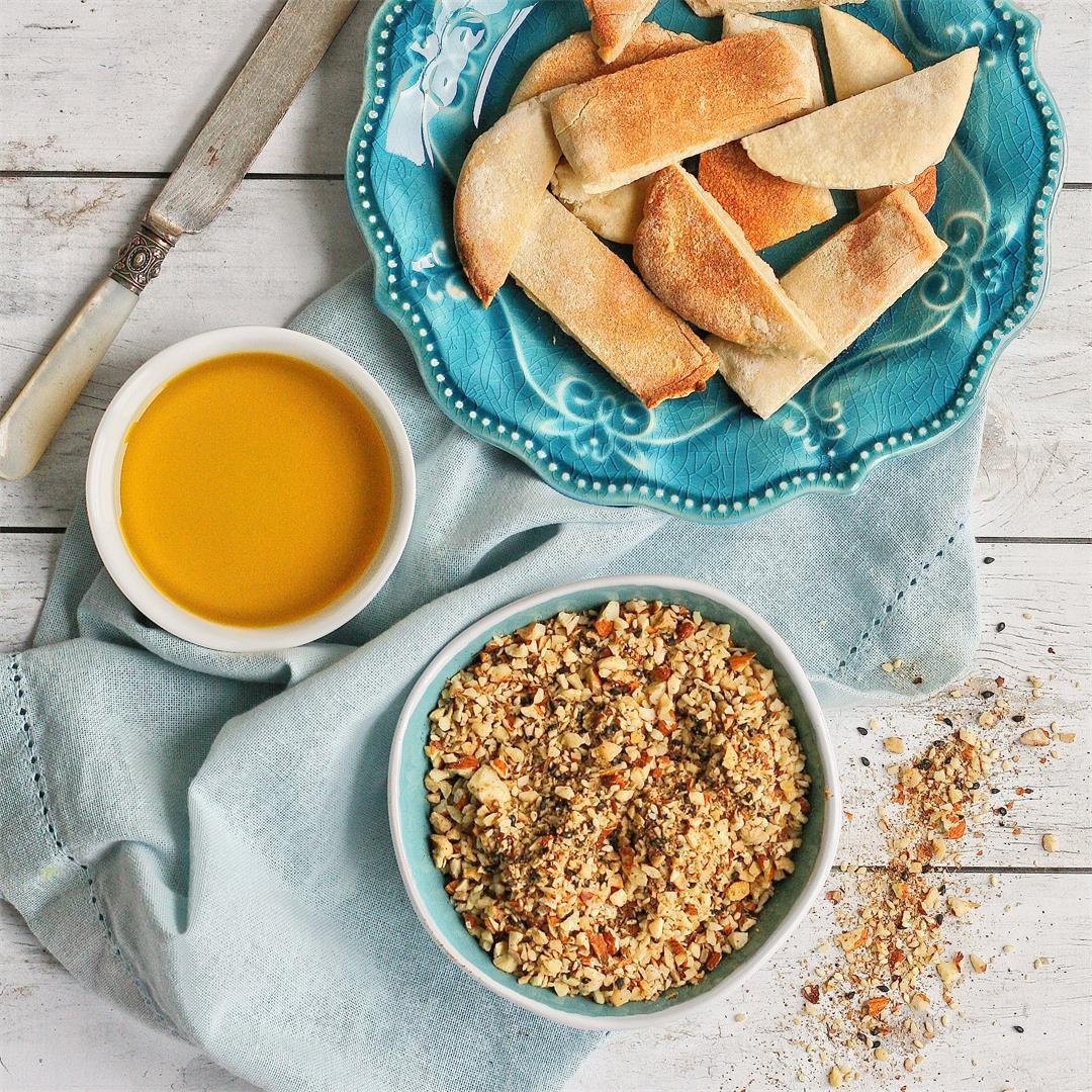 Easy homemade dukkah