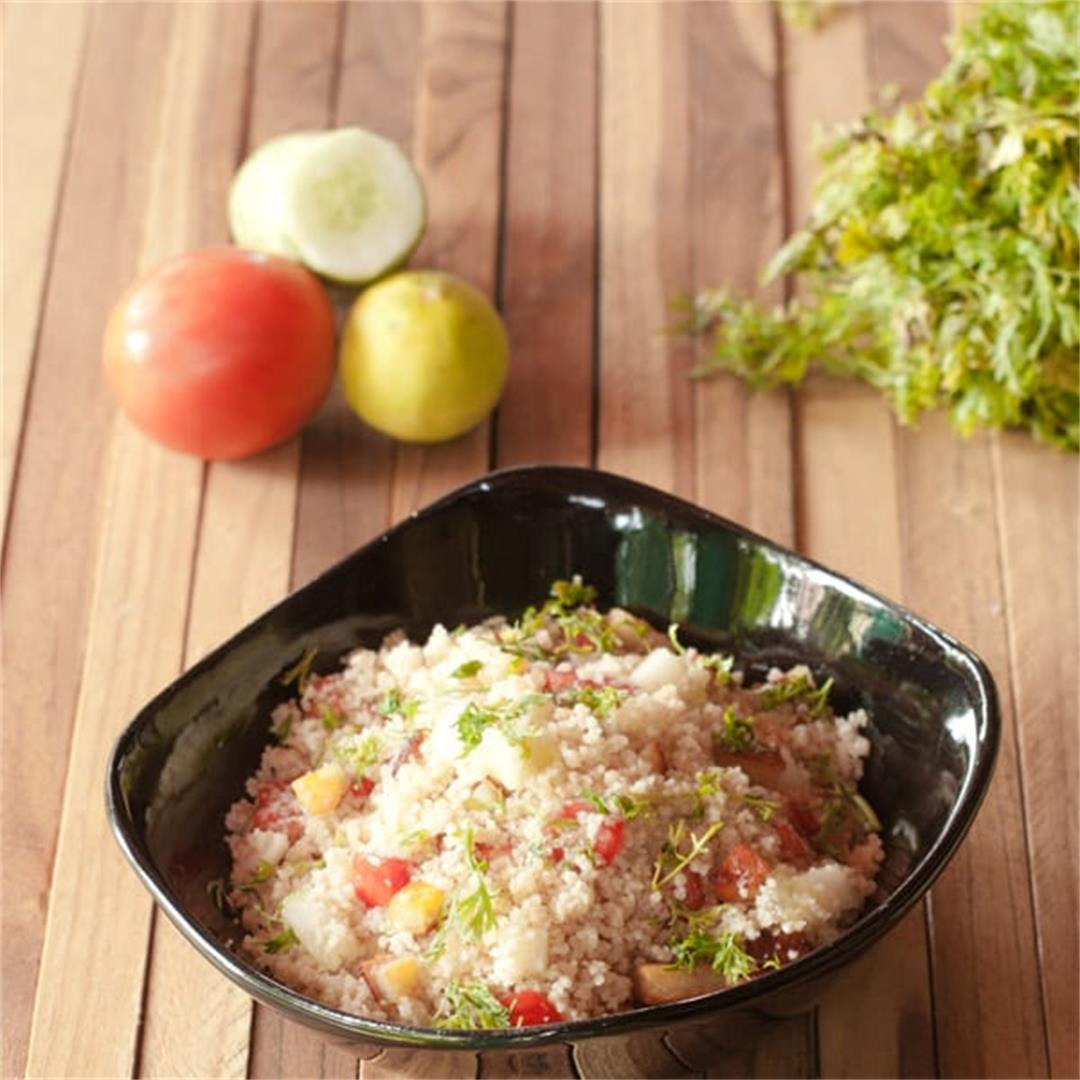 Cold Couscous Salad