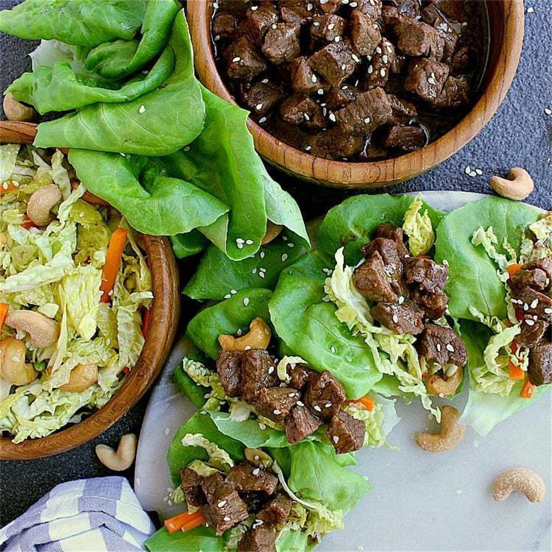 Instant Pot Low Carb Korean Beef
