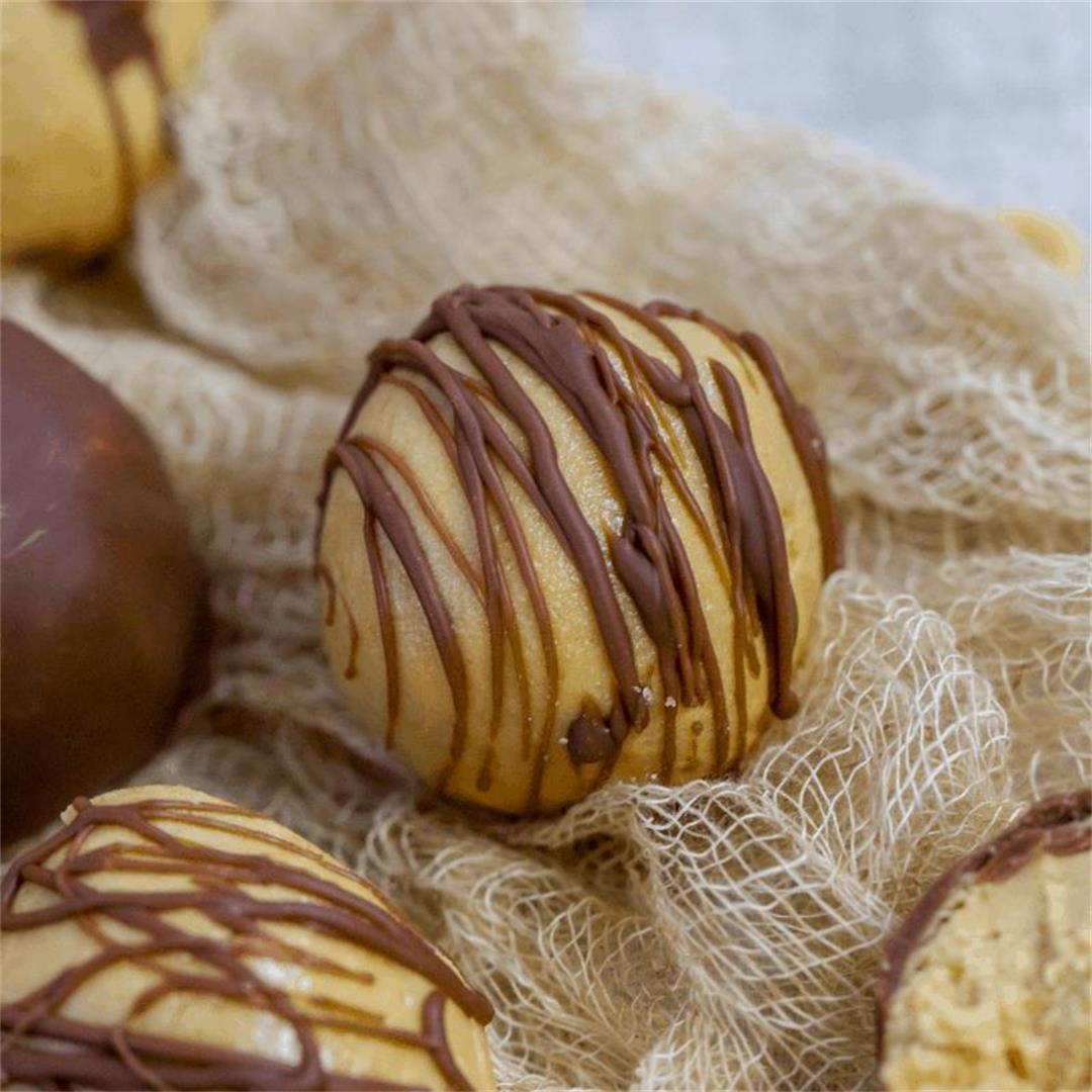 Keto Peanut Butter Protein Balls