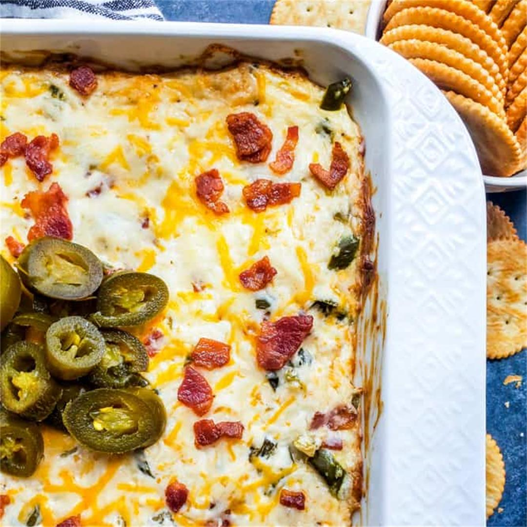 Jalapeno Popper Dip with Bacon Recipe