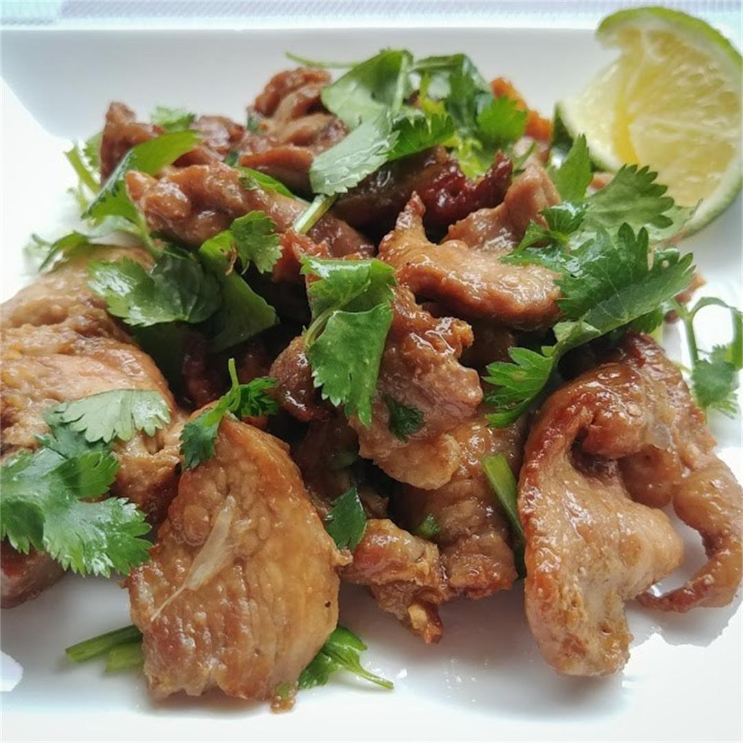 Cilantro Lime Spiced Pork